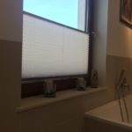 Plisy do łazienka