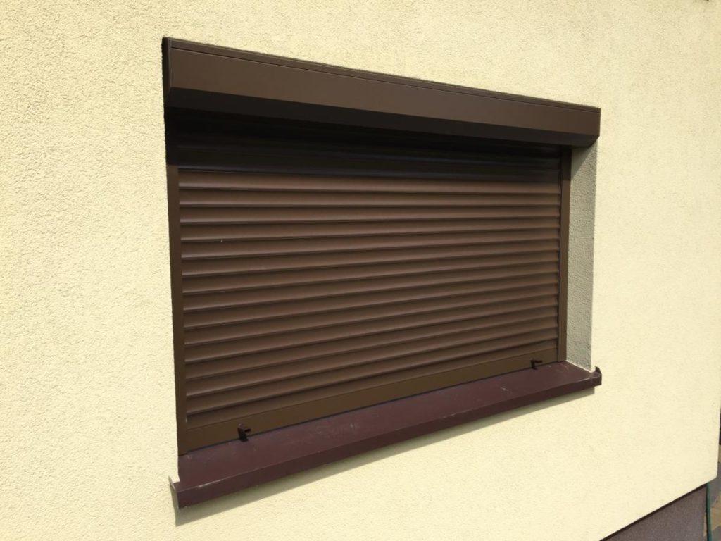 Roleta na okna zewnętrzna